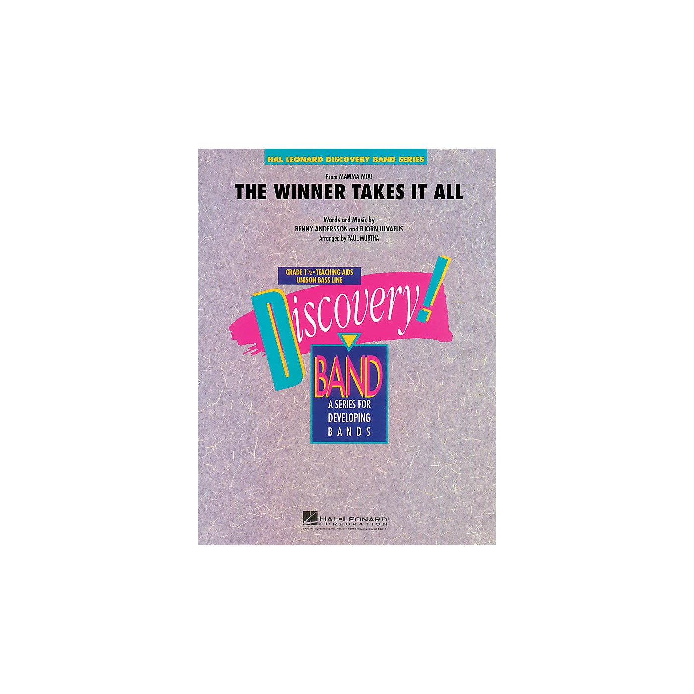 Hal Leonard The Winner Takes It All (from Mamma Mia! - The Motion Picture) Concert Band Level 1.5 by Paul Murtha thumbnail