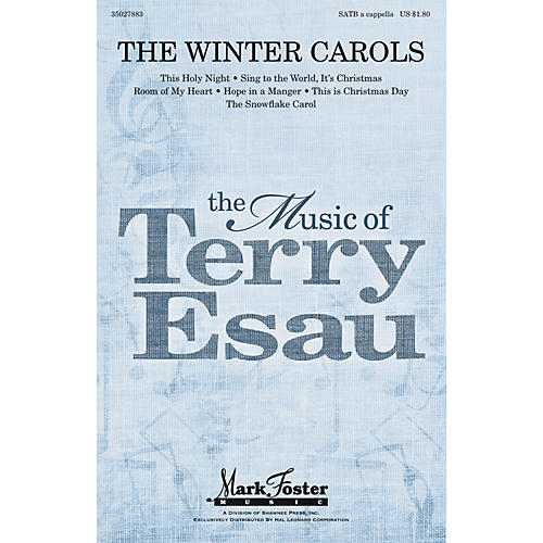 Shawnee Press The Winter Carols SATB a cappella composed by Terry Esau thumbnail