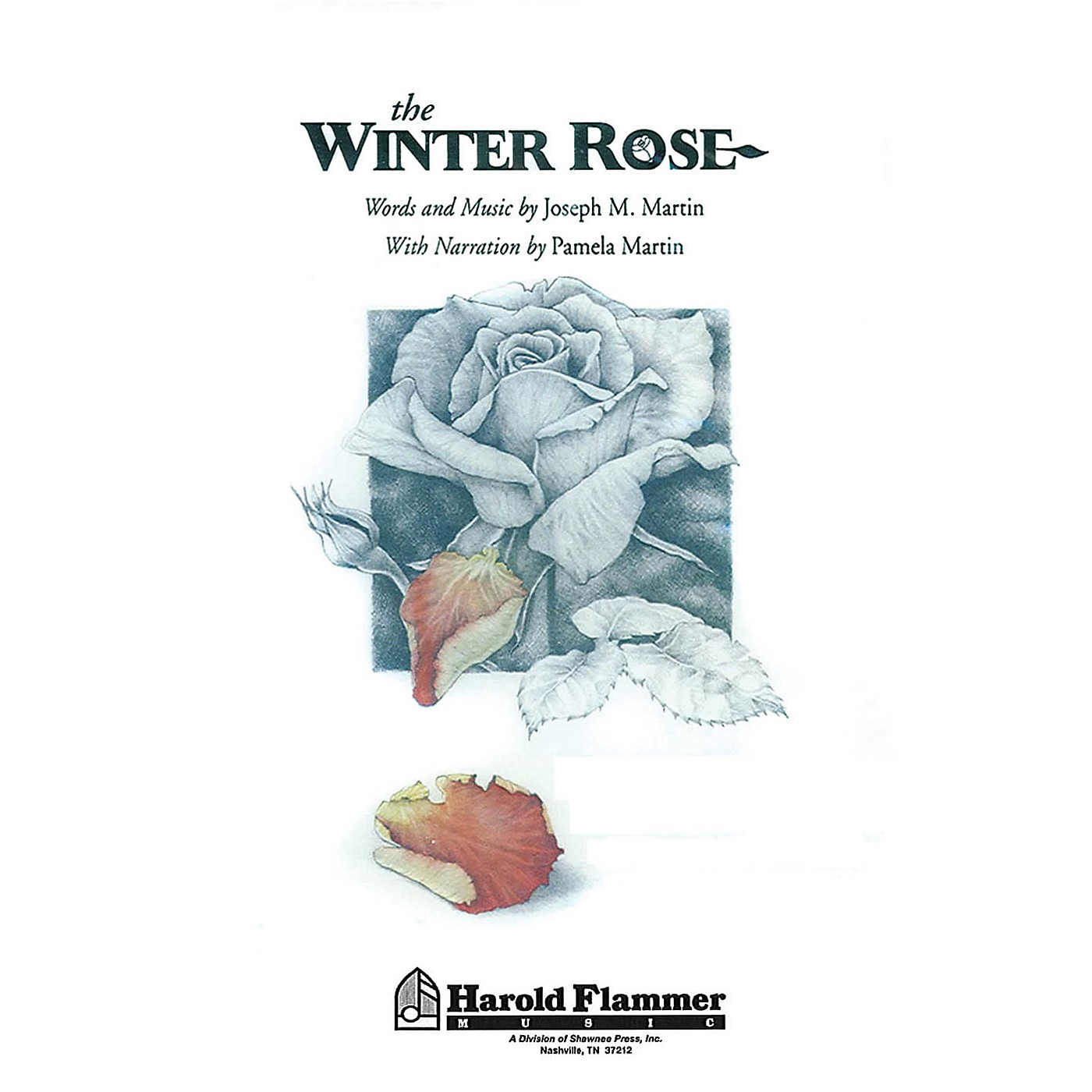 Shawnee Press The Winter Rose (SATB) SATB composed by Joseph M. Martin thumbnail