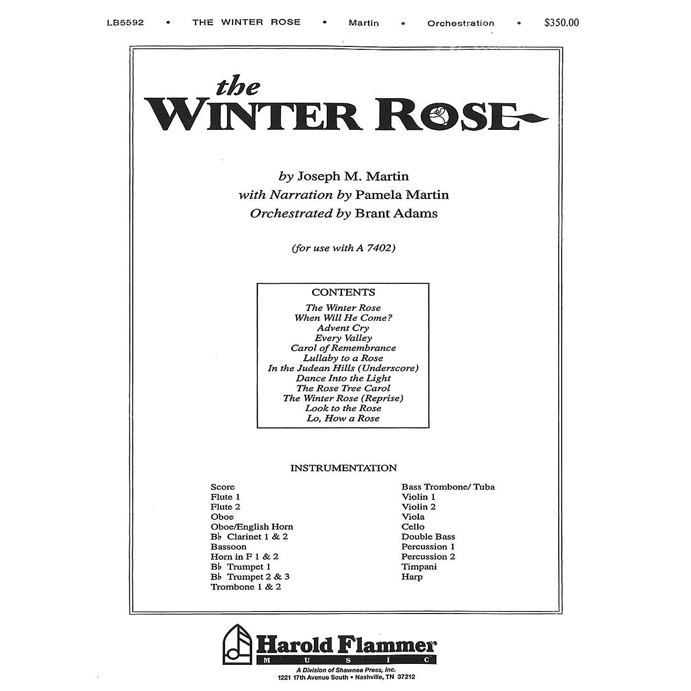 Shawnee Press The Winter Rose Score & Parts composed by Joseph M. Martin thumbnail