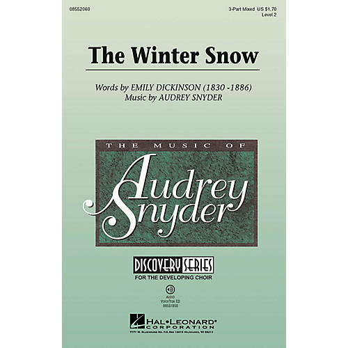 Hal Leonard The Winter Snow (Discovery Level 2) 3-Part Mixed composed by Audrey Snyder thumbnail