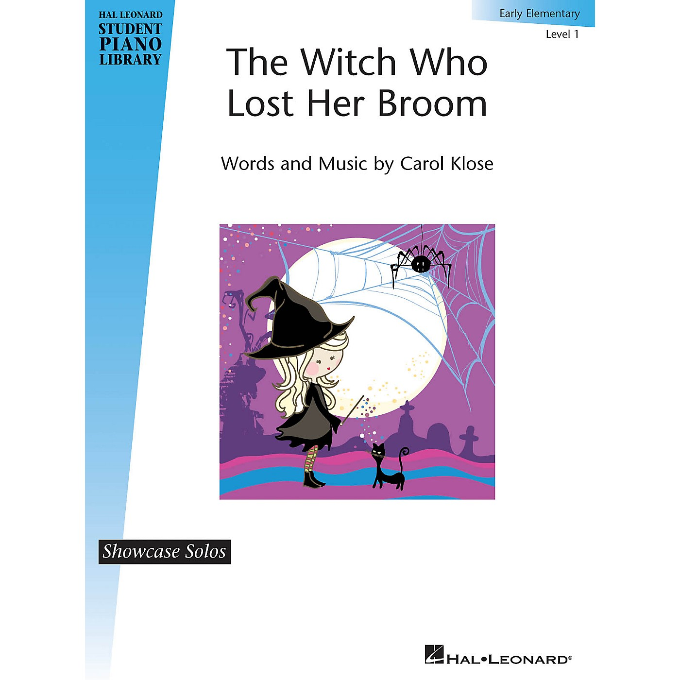 Hal Leonard The Witch Who Lost Her Broom Piano Library Series by Carol Klose (Level Early Elem) thumbnail