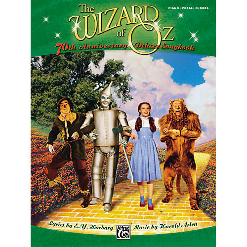 Alfred The Wizard of Oz 70th Anniversary Deluxe Songbook Piano/Vocal/Chords-thumbnail