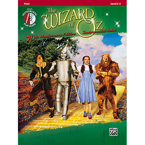 Alfred The Wizard of Oz 70th Anniversary Edition Instrumental Solos: Flute (Songbook/CD)-thumbnail