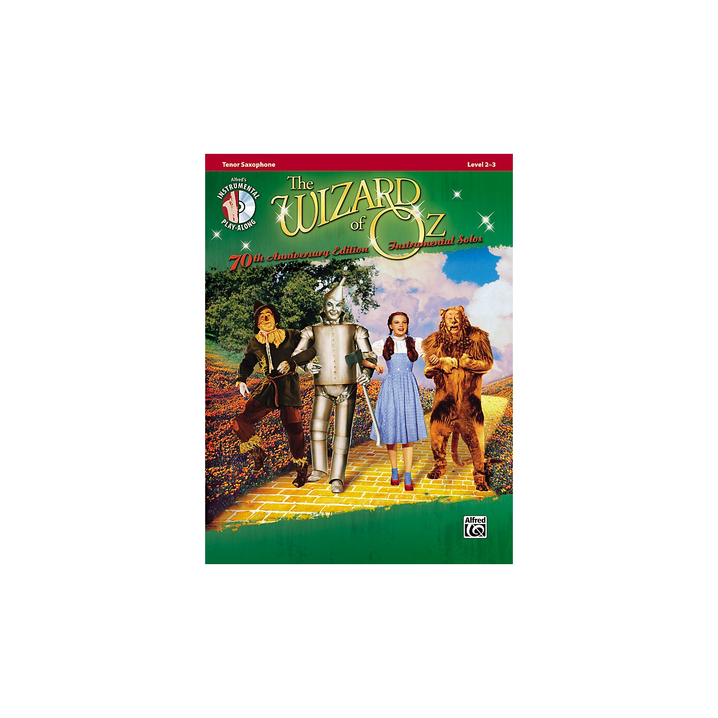 Alfred The Wizard of Oz 70th Anniversary Edition Instrumental Solos: Tenor Sax (Songbook/CD) thumbnail