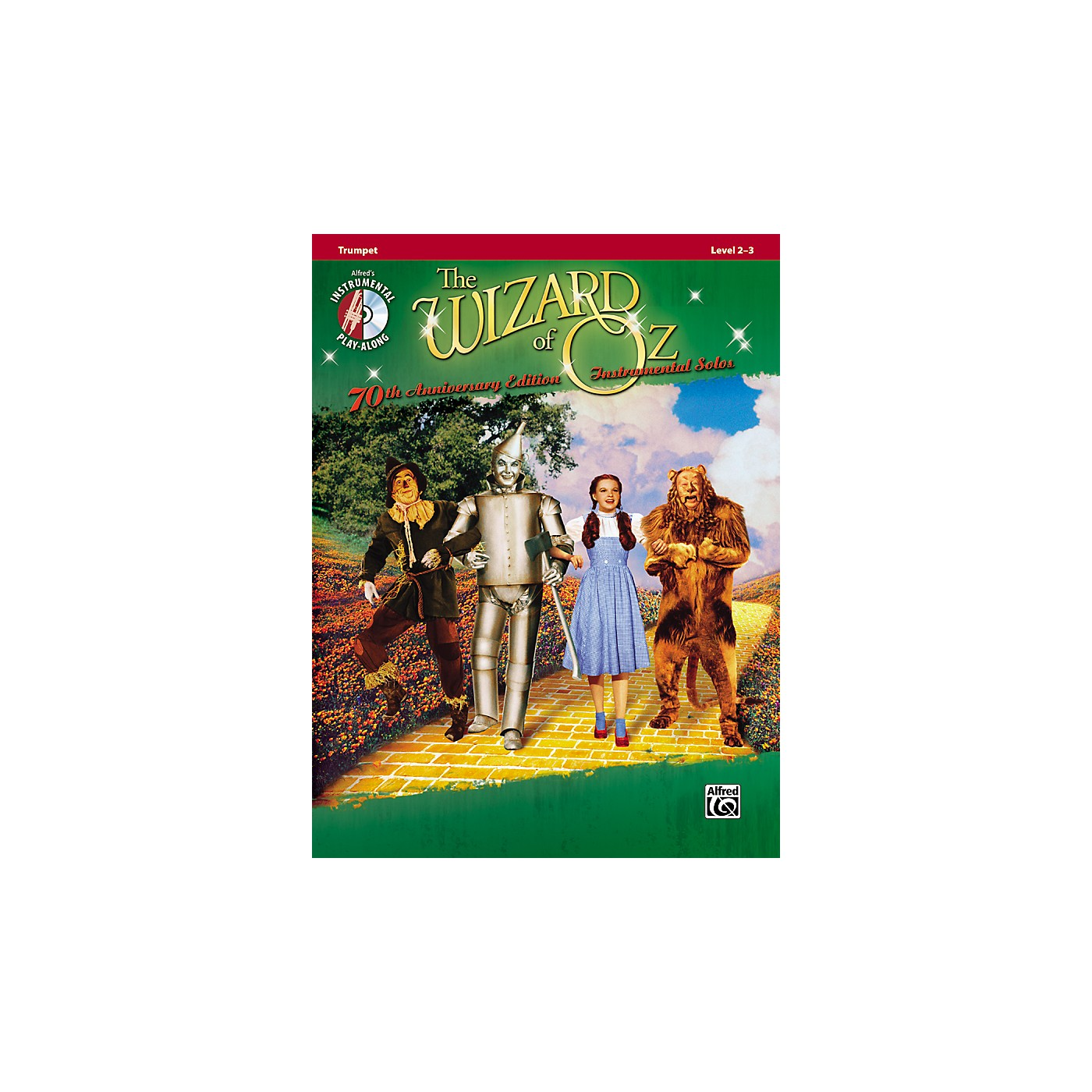 Alfred The Wizard of Oz 70th Anniversary Edition Instrumental Solos: Trumpet (Songbook/CD) thumbnail
