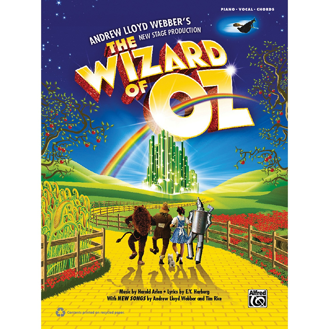 Alfred The Wizard of Oz: Selections from Andrew Lloyd Webber's New Stage Production P/V/C Book thumbnail
