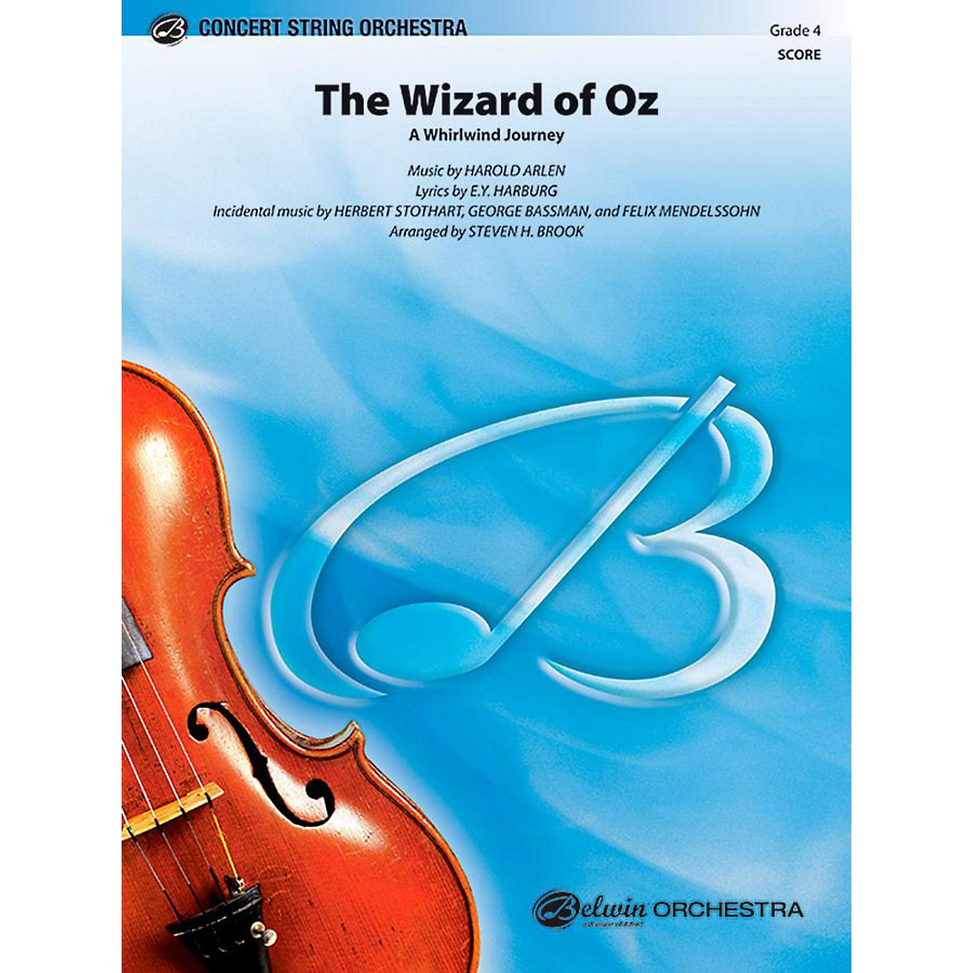 Alfred The Wizard of Oz String Orchestra Level 4 Set thumbnail