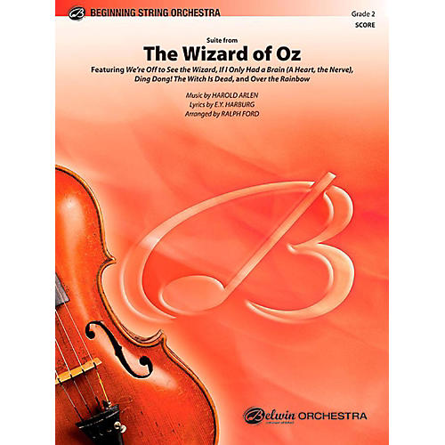 Alfred The Wizard of Oz, Suite from String Orchestra Level 2 Set thumbnail