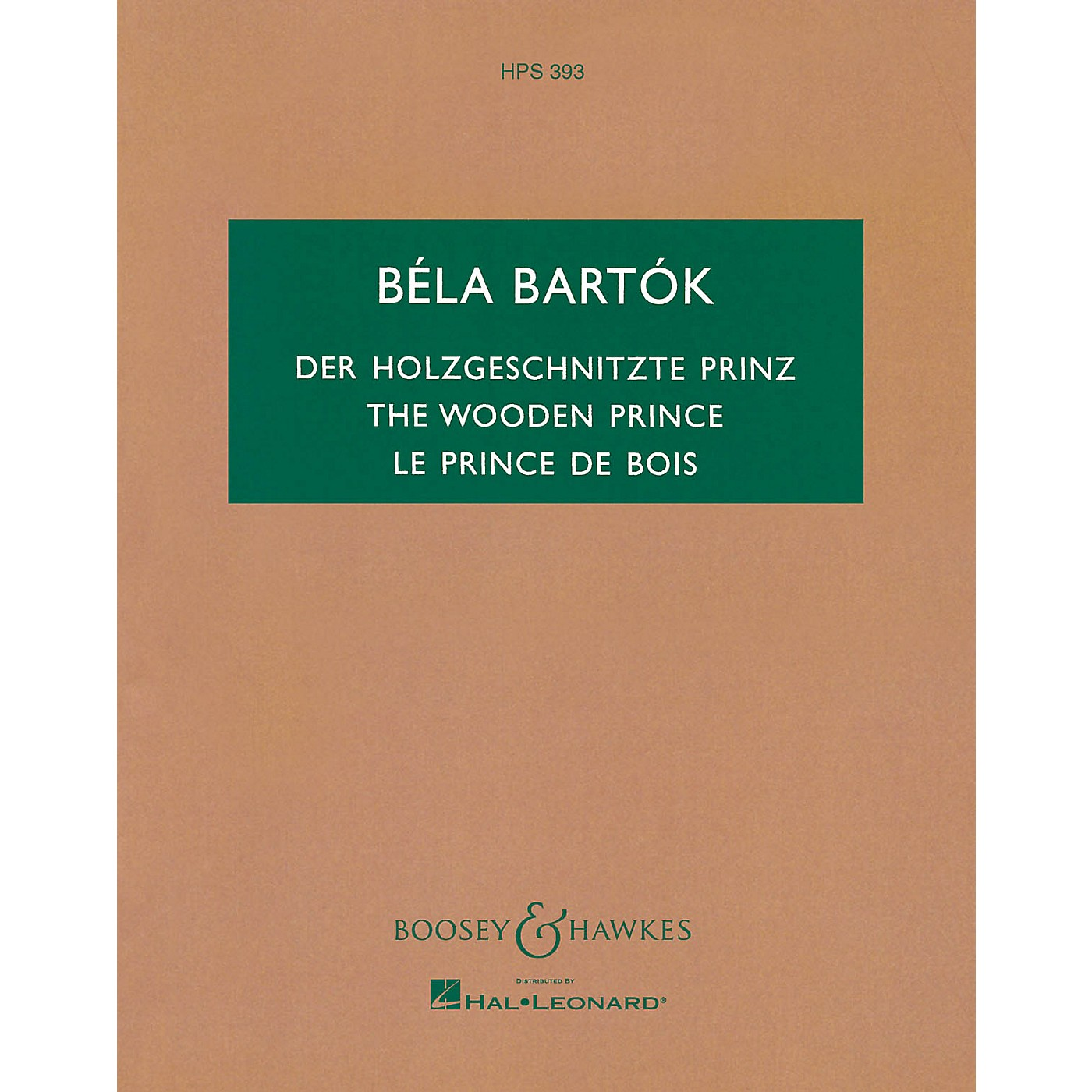 Boosey and Hawkes The Wooden Prince, Op. 13 (Complete Ballet) Boosey & Hawkes Scores/Books Series Composed by Béla Bartók thumbnail