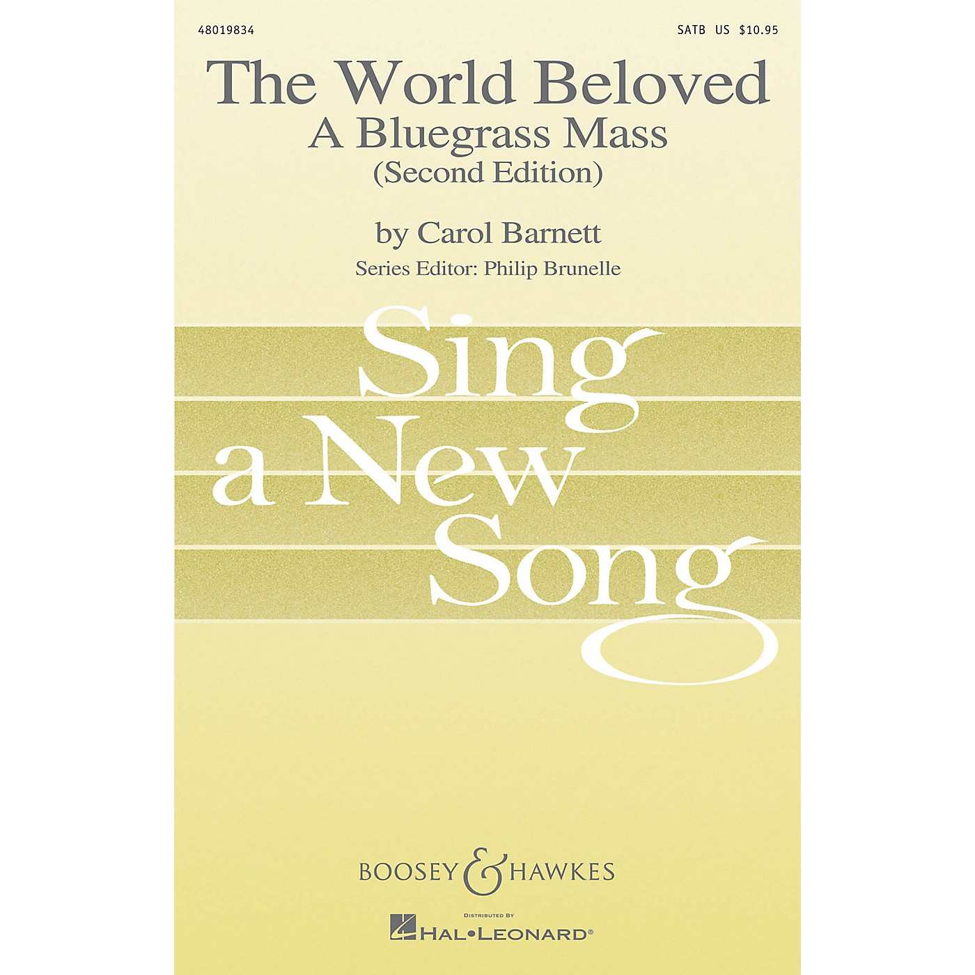 Boosey and Hawkes The World Beloved: A Bluegrass Mass (Sing a New Song Series) Vocal Score composed by Carol Barnett thumbnail