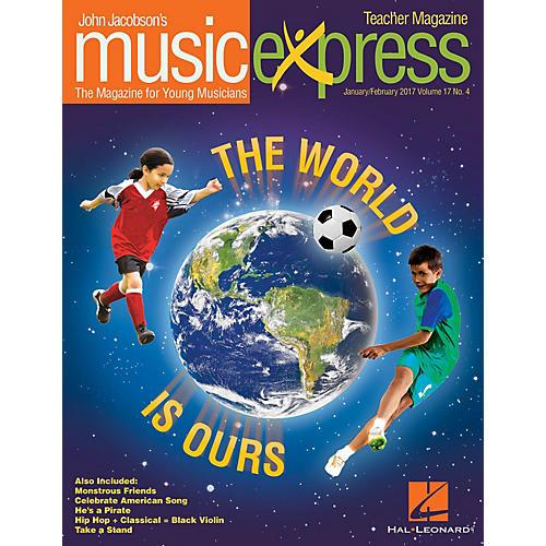 Hal Leonard The World Is Ours Vol. 17 No. 4 PREMIUM PLUS COMPLETE PAK by Aloe Blacc Arranged by Emily Crocker thumbnail