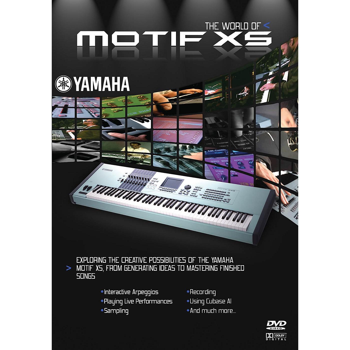 Keyfax The World of Motif XS DVD Series DVD Written by Athan Billias thumbnail