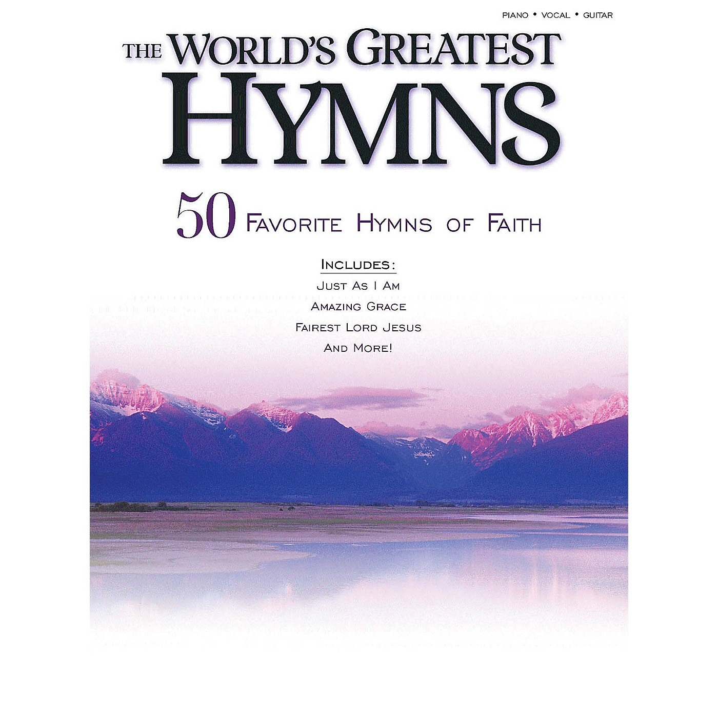 Shawnee Press The World's Greatest Hymns (50 Favorite Hymns of Faith) Shawnee Press Series Softcover thumbnail