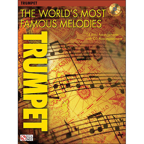 Cherry Lane The World's Most Famous Melodies for Trumpet Book/CD-thumbnail