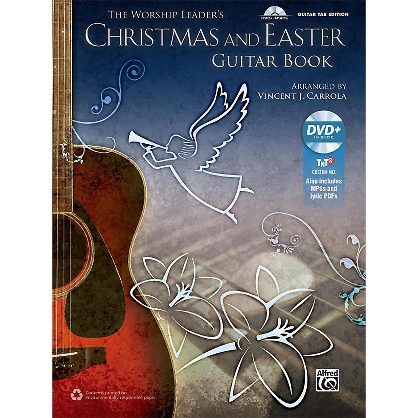 Alfred The Worship Leader's Christmas and Easter Guitar TAB (Book/MP3 CD) thumbnail