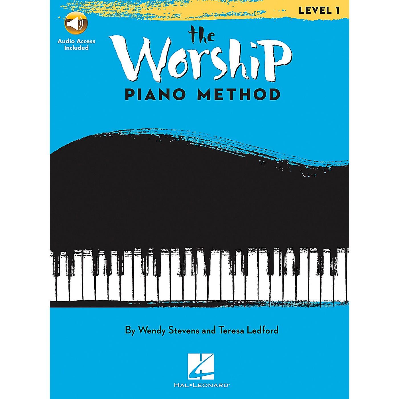 Hal Leonard The Worship Piano Method - Level 1 Book/CD thumbnail