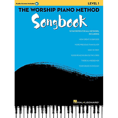 Hal Leonard The Worship Piano Method Songbook - Level 1 Book w/ Audio Online thumbnail