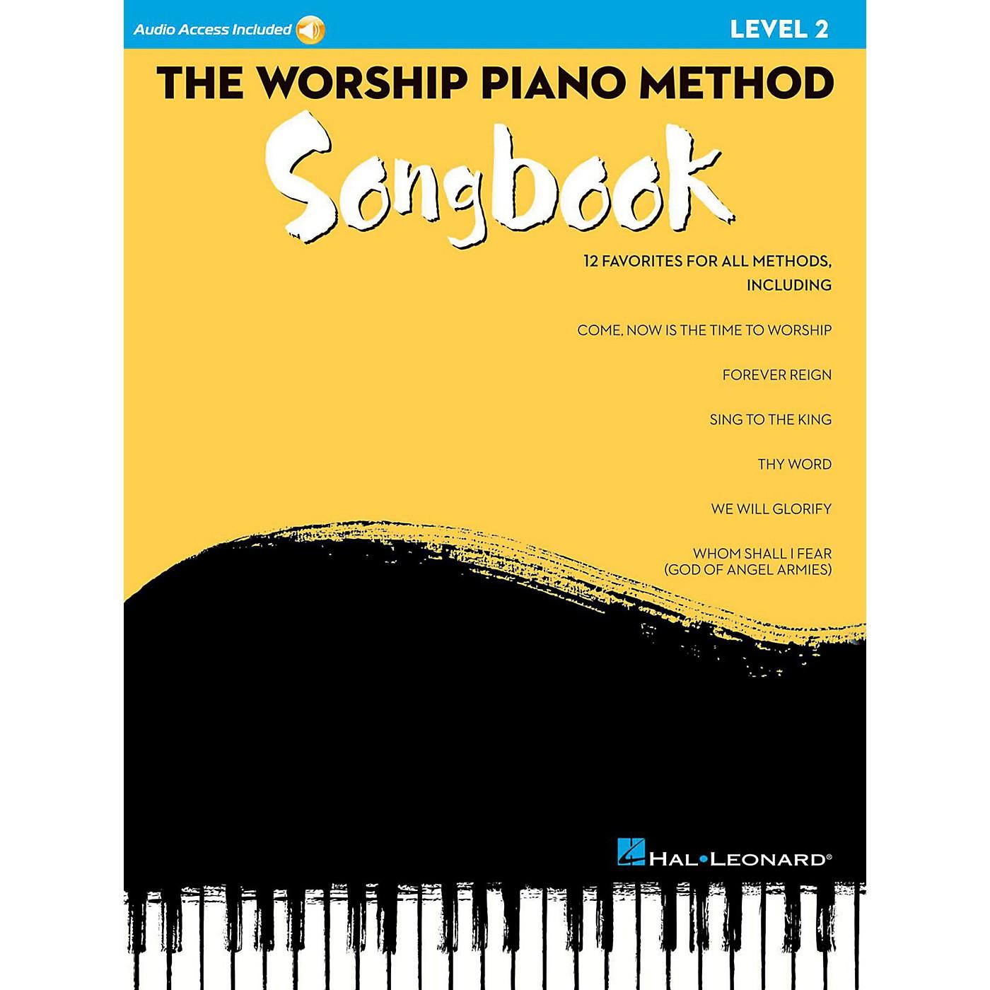 Hal Leonard The Worship Piano Method Songbook - Level 2 Book w/ Audio Online thumbnail