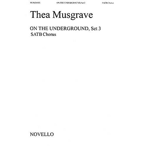 Music Sales Thea Musgrave: On The Underground, Set 3 Music Sales America Series thumbnail