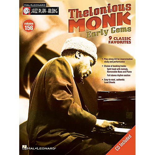 Hal Leonard Thelonious Monk - Early Gems Jazz Play Along Series Softcover with CD Performed by Thelonious Monk thumbnail