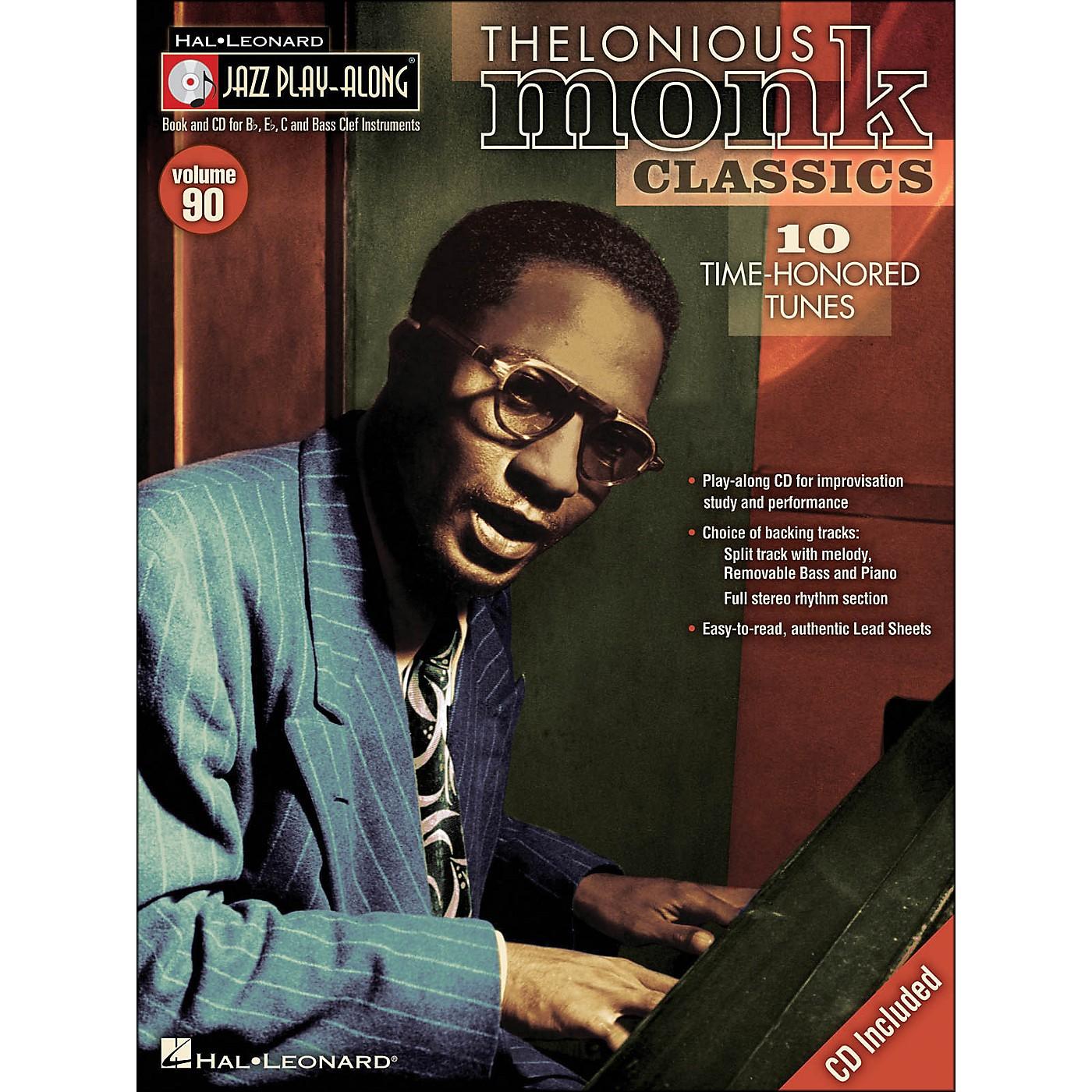 Hal Leonard Thelonious Monk Classics - Jazz Play-Along Volume 90 (CD/Pkg) thumbnail