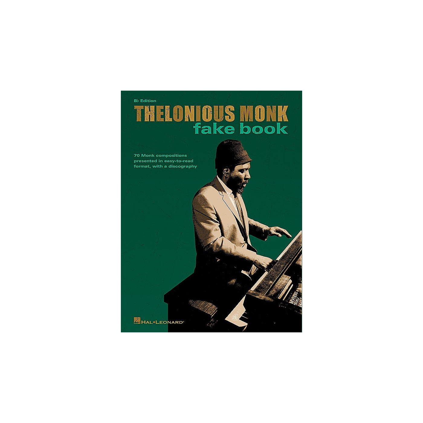 Hal Leonard Thelonious Monk Fake Book (B-flat Edition) Artist Books Series Softcover Performed by Thelonious Monk thumbnail