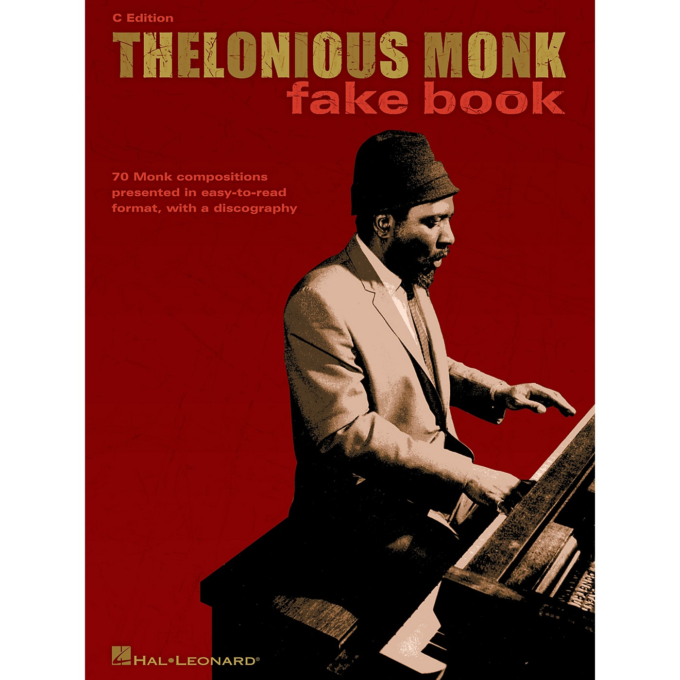 Hal Leonard Thelonious Monk Fake Book (C Edition) Artist Books Series Performed by Thelonious Monk thumbnail