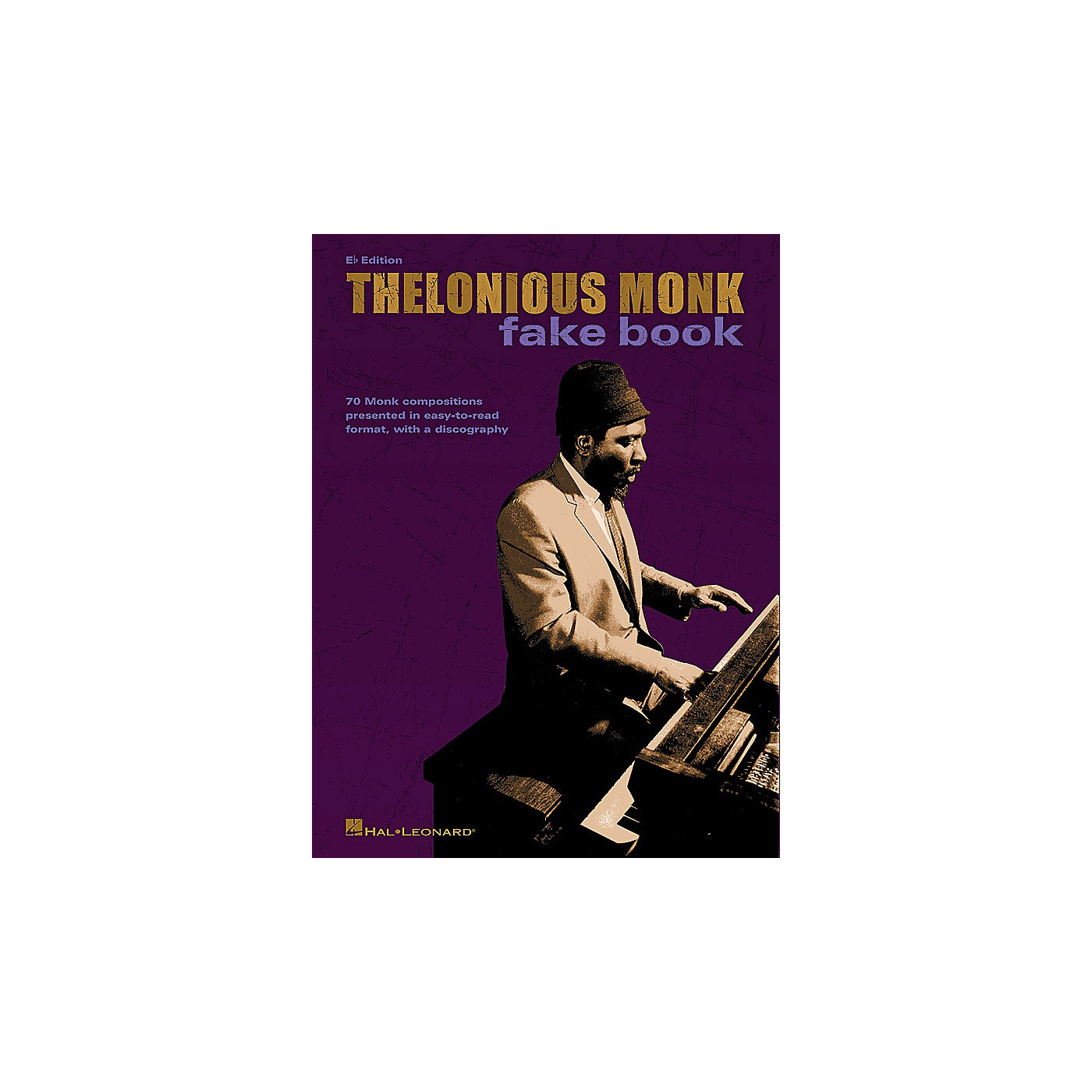 Hal Leonard Thelonious Monk Fake Book (E-flat Edition) Artist Books Series Softcover Performed by Thelonious Monk thumbnail