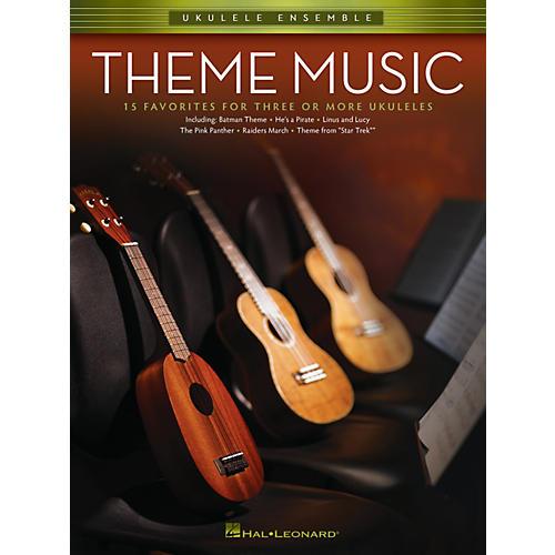 Hal Leonard Theme Music (Ukulele Ensembles Early Intermediate) Ukulele Ensemble Series Softcover thumbnail