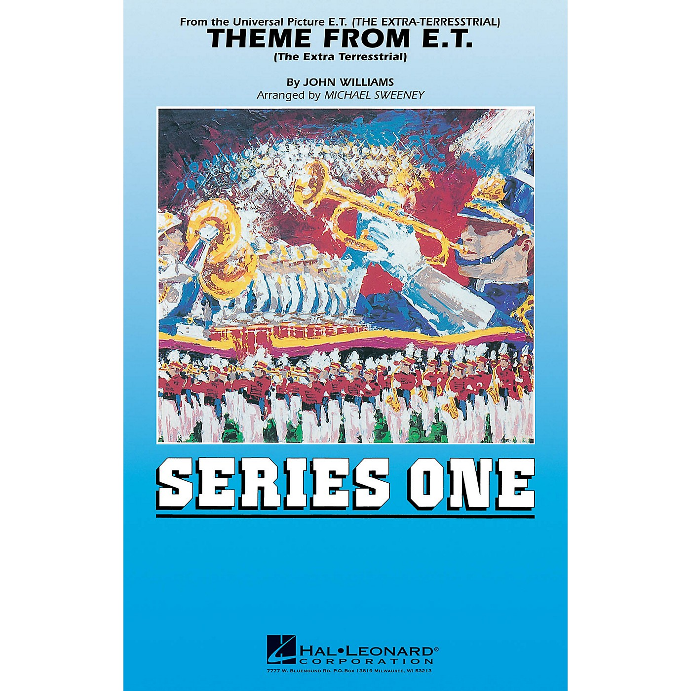 MCA Theme from E.T. The Extra-Terrestrial Marching Band Level 2 Arranged by Michael Sweeney thumbnail