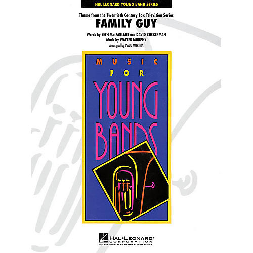 Hal Leonard Theme from Family Guy - Young Concert Band Level 3 by Paul Murtha thumbnail