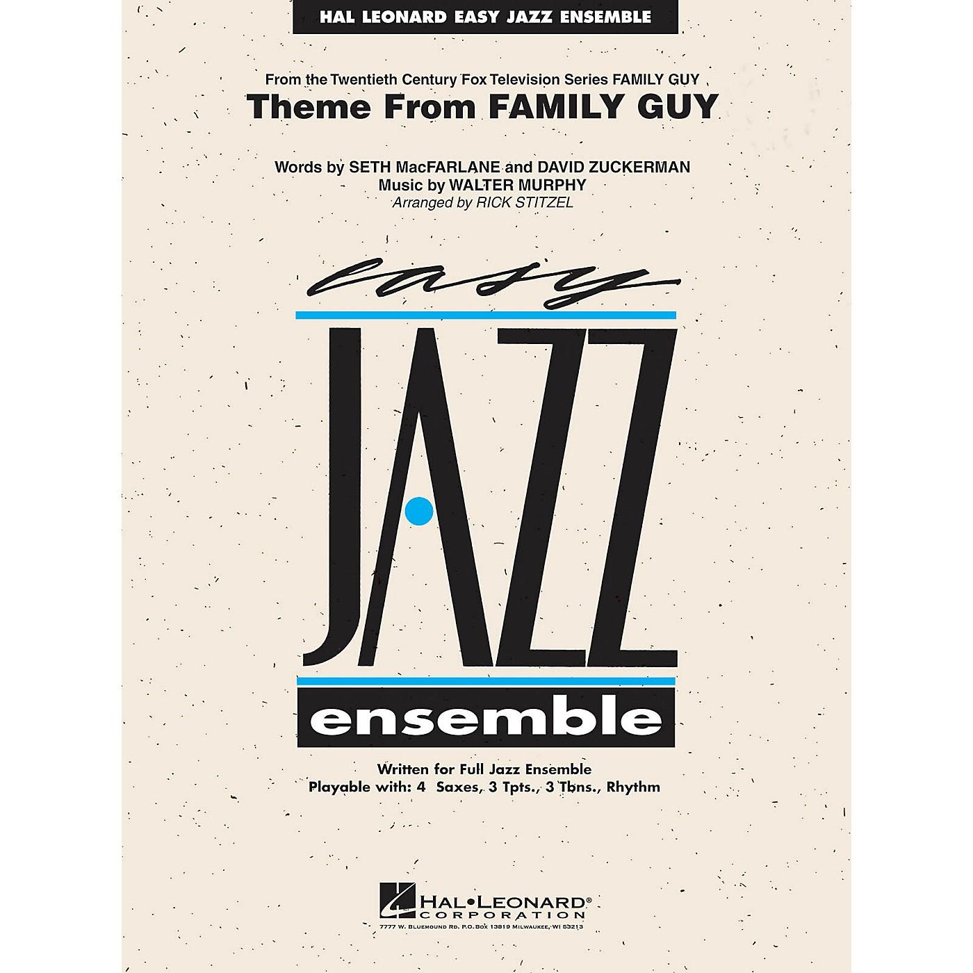 Hal Leonard Theme from Family Guy (Includes Full Performance CD) Jazz Band Level 2 Arranged by Rick Stitzel thumbnail