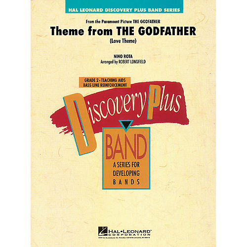 Hal Leonard Theme from The Godfather - Discovery Plus Concert Band Level 2 by Robert Longfield thumbnail