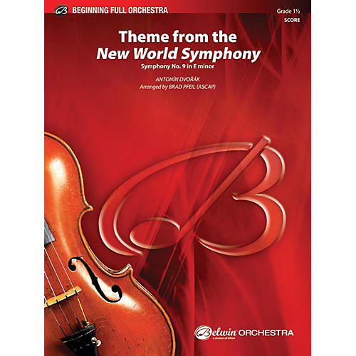 Alfred Theme from the New World Symphony Full Orchestra Grade 1.5 thumbnail