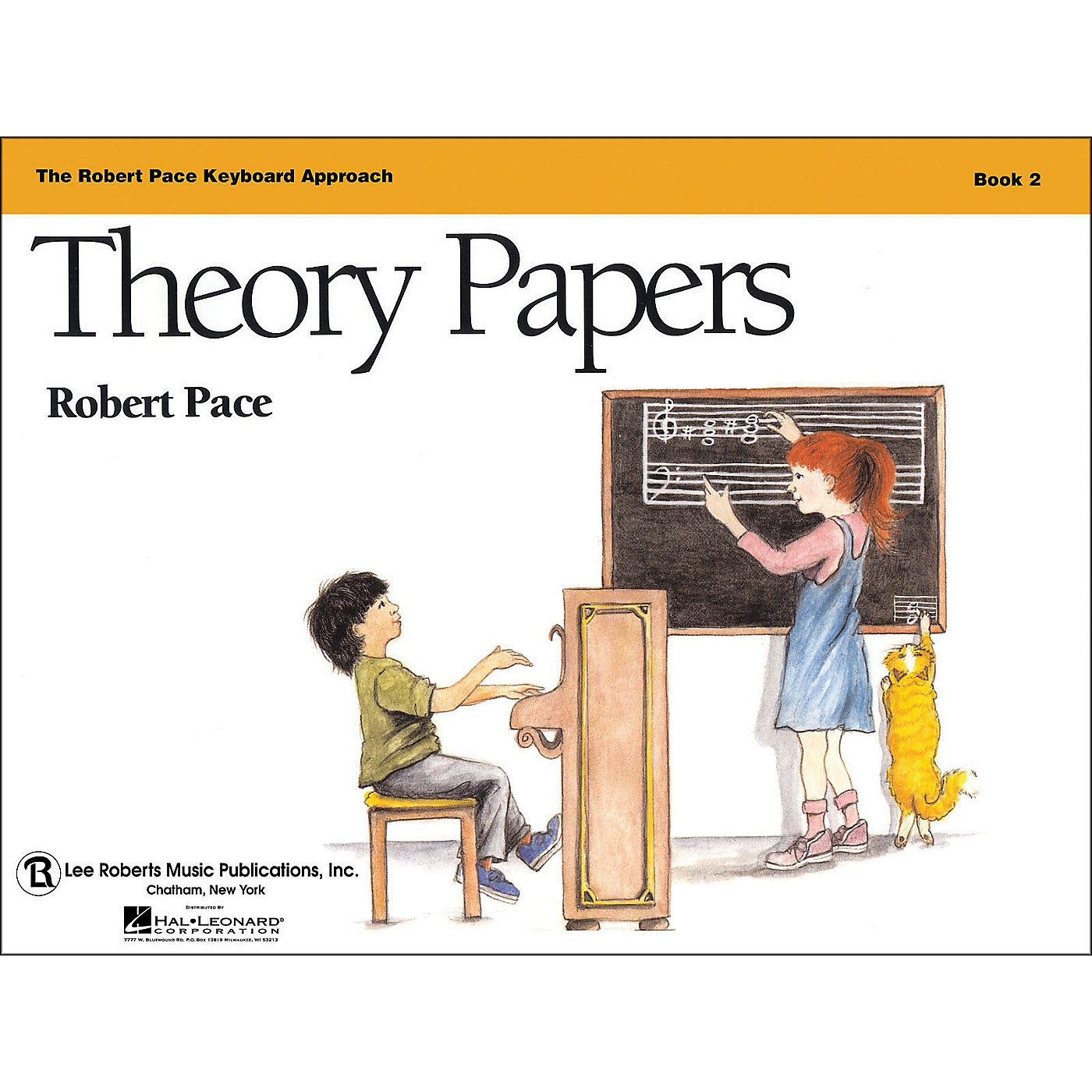Hal Leonard Theory Papers Book 2, Piano Revised, The Robert Pace Keyboard Approach thumbnail