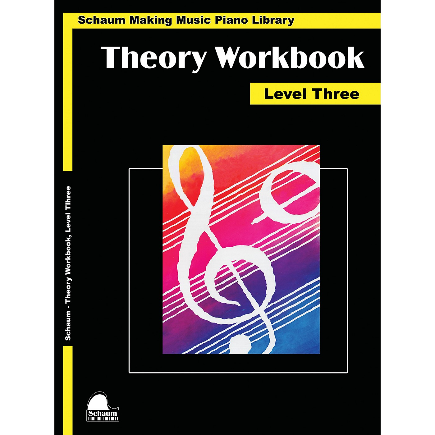 SCHAUM Theory Workbook - Level 3 Educational Piano Book by Wesley Schaum thumbnail