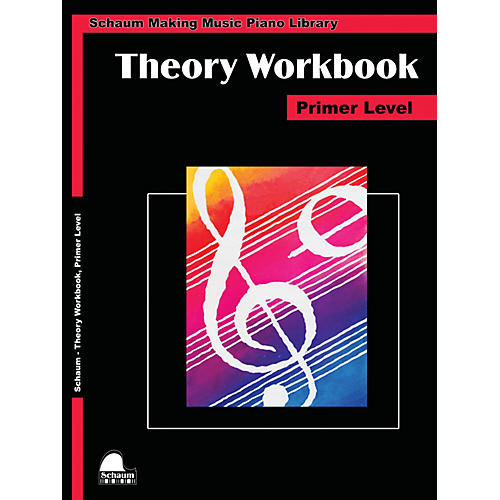 SCHAUM Theory Workbook - Primer Educational Piano Book by Wesley Schaum thumbnail