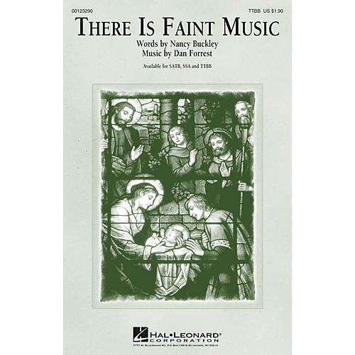 Hal Leonard There Is Faint Music TTBB composed by Dan Forrest thumbnail