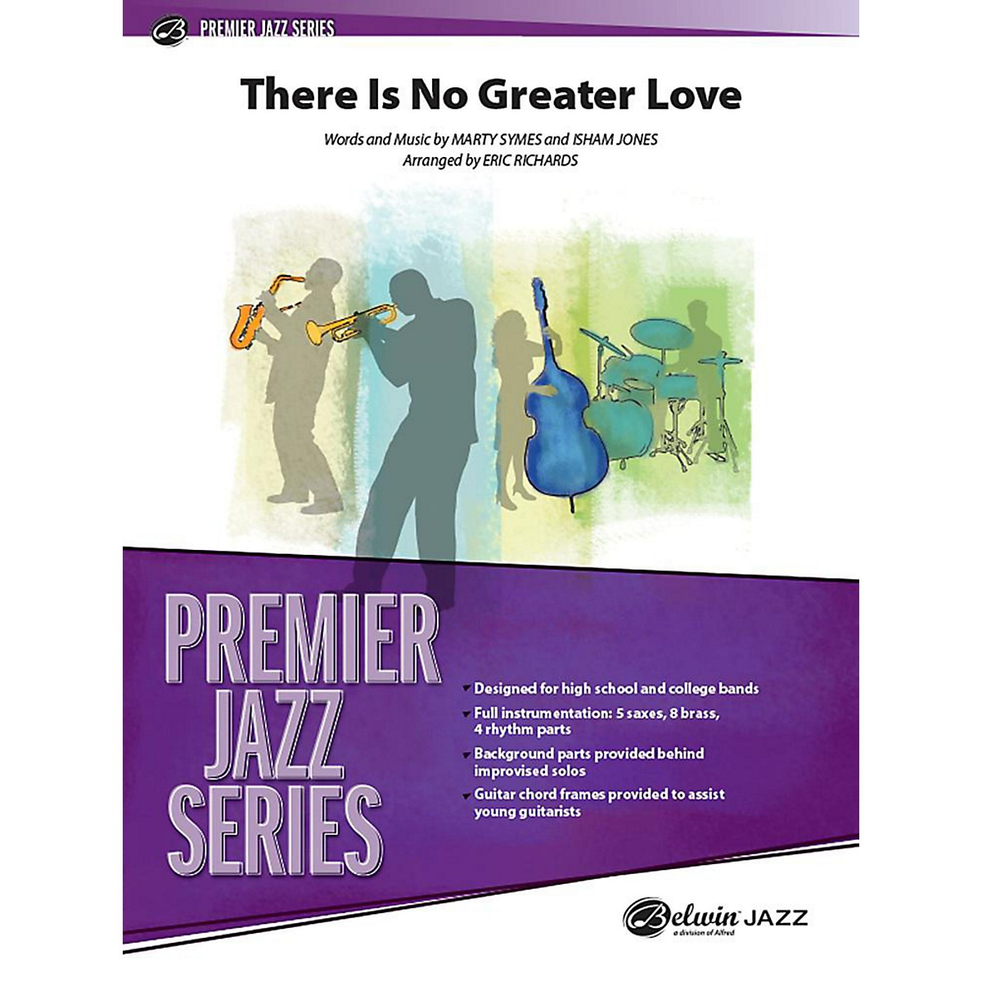 Alfred There Is No Greater Love Jazz Band Grade 5 Set thumbnail