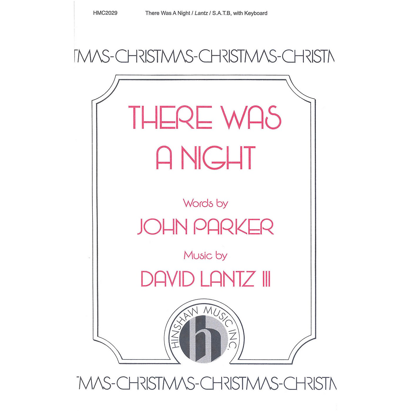 Hinshaw Music There Was a Night SATB composed by David Lantz III thumbnail