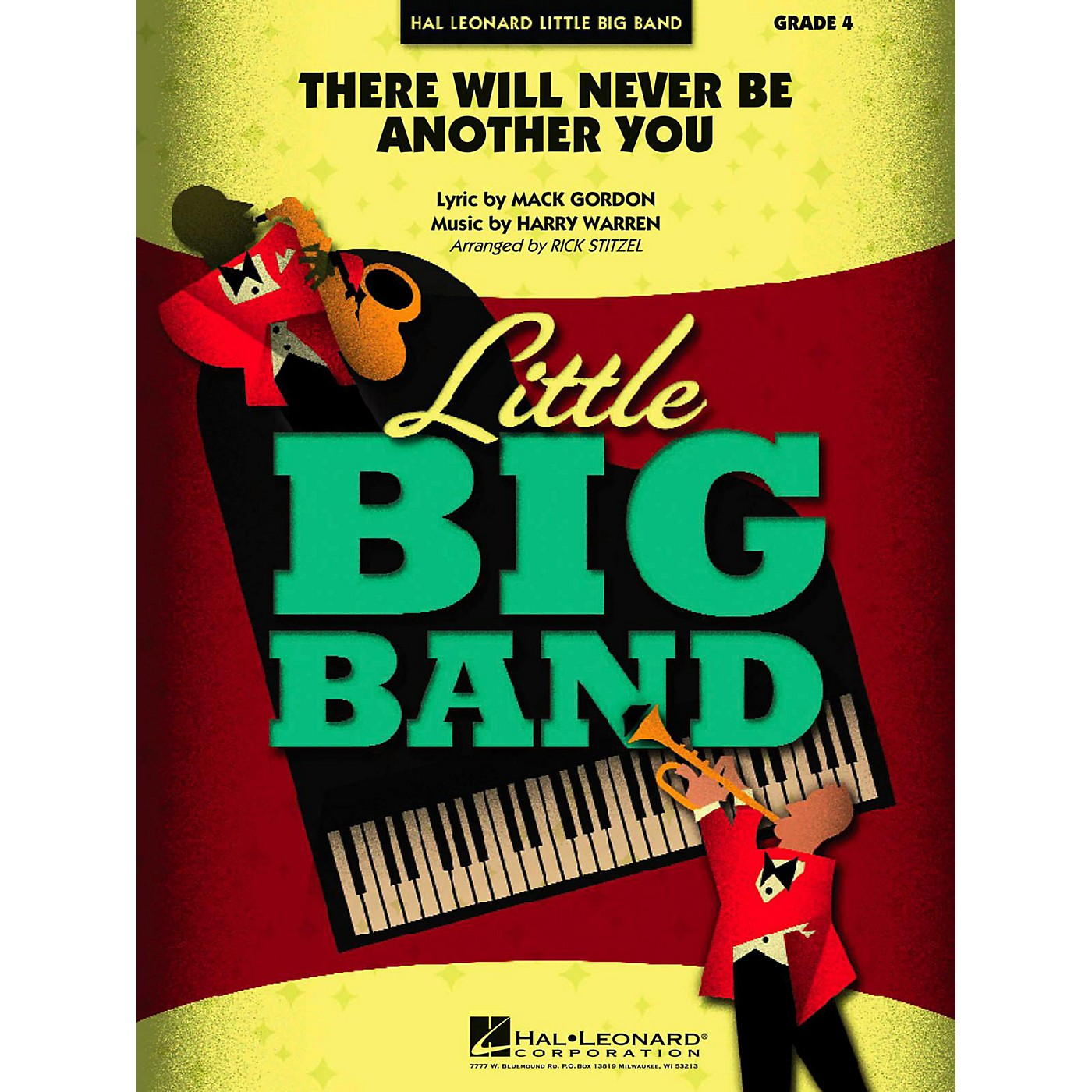 Hal Leonard There Will Never Be Another You Jazz Band Level 4 thumbnail
