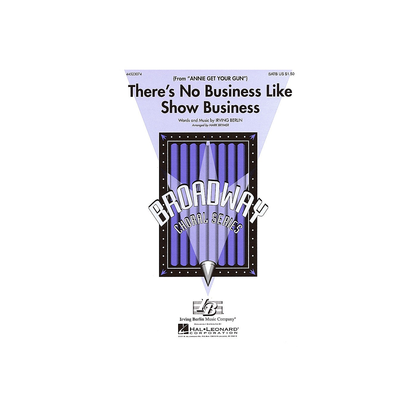 Hal Leonard There's No Business Like Show Business (from Annie Get Your Gun) SAB Arranged by Mark Brymer thumbnail