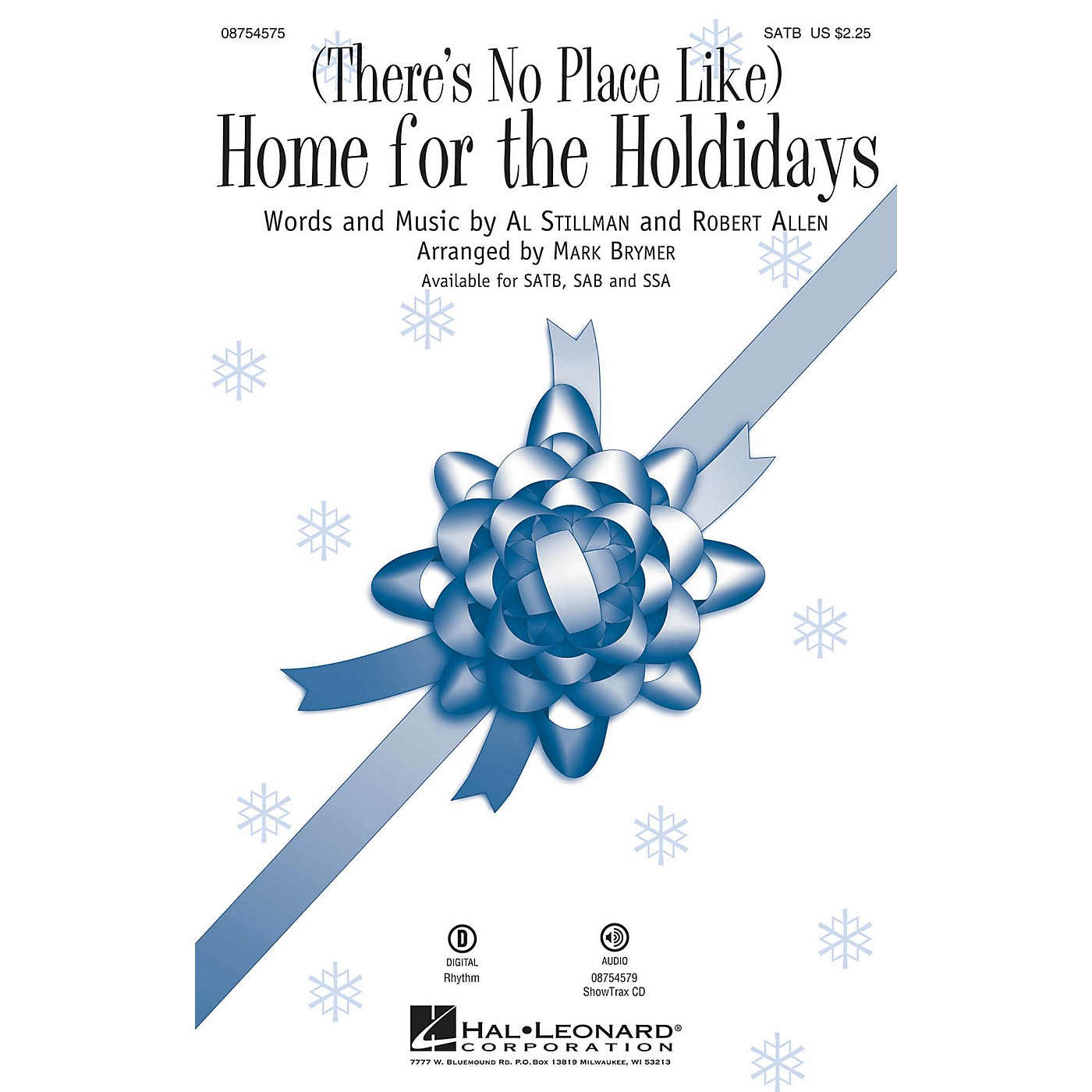 Hal Leonard (There's No Place Like) Home for the Holidays SAB Arranged by Mark Brymer thumbnail
