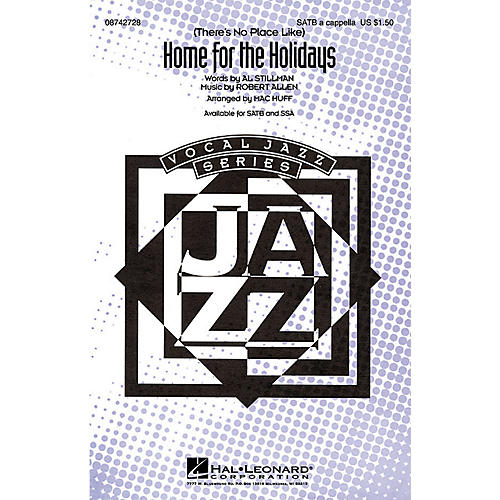 Hal Leonard (There's No Place Like) Home for the Holidays (SATB a cappella) SATB a cappella arranged by Mac Huff thumbnail