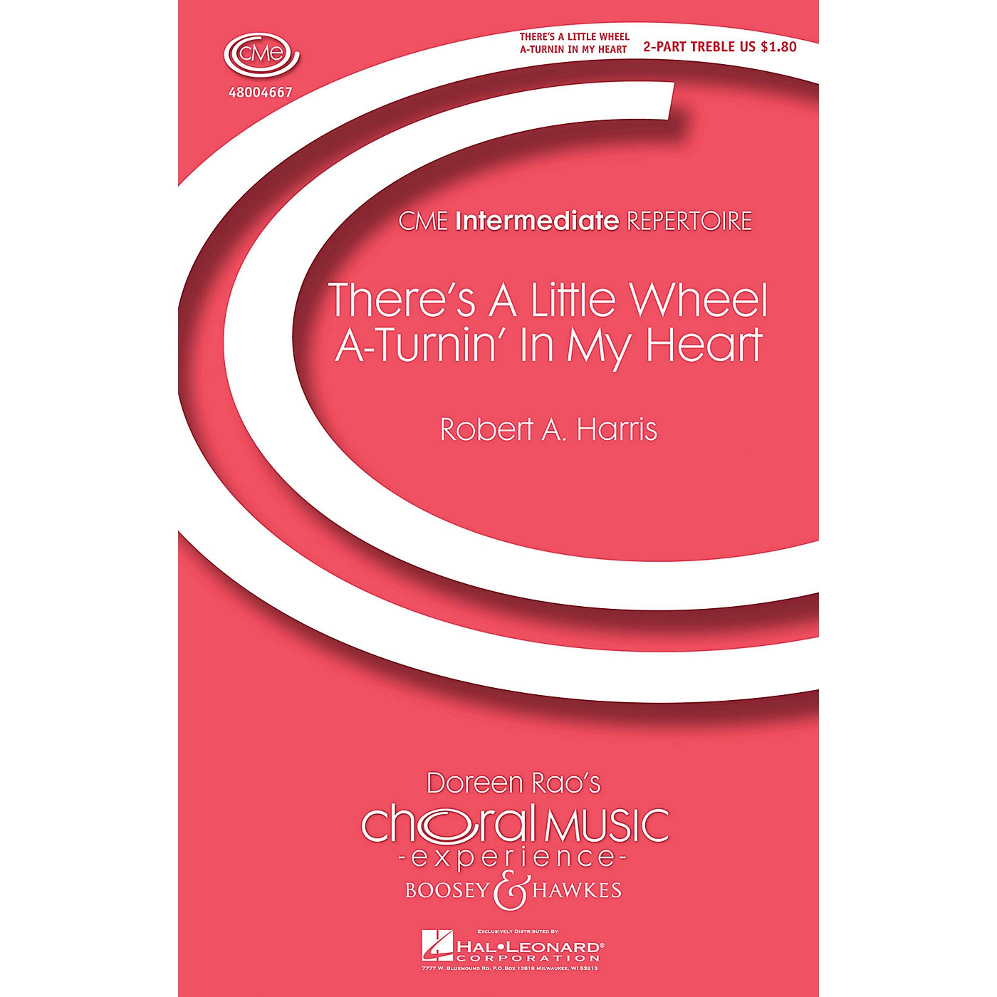 Boosey and Hawkes There's a Little Wheel a-Turnin' in My Heart (No. 1 from Four Spirituals) 2-Part by Robert A. Harris thumbnail