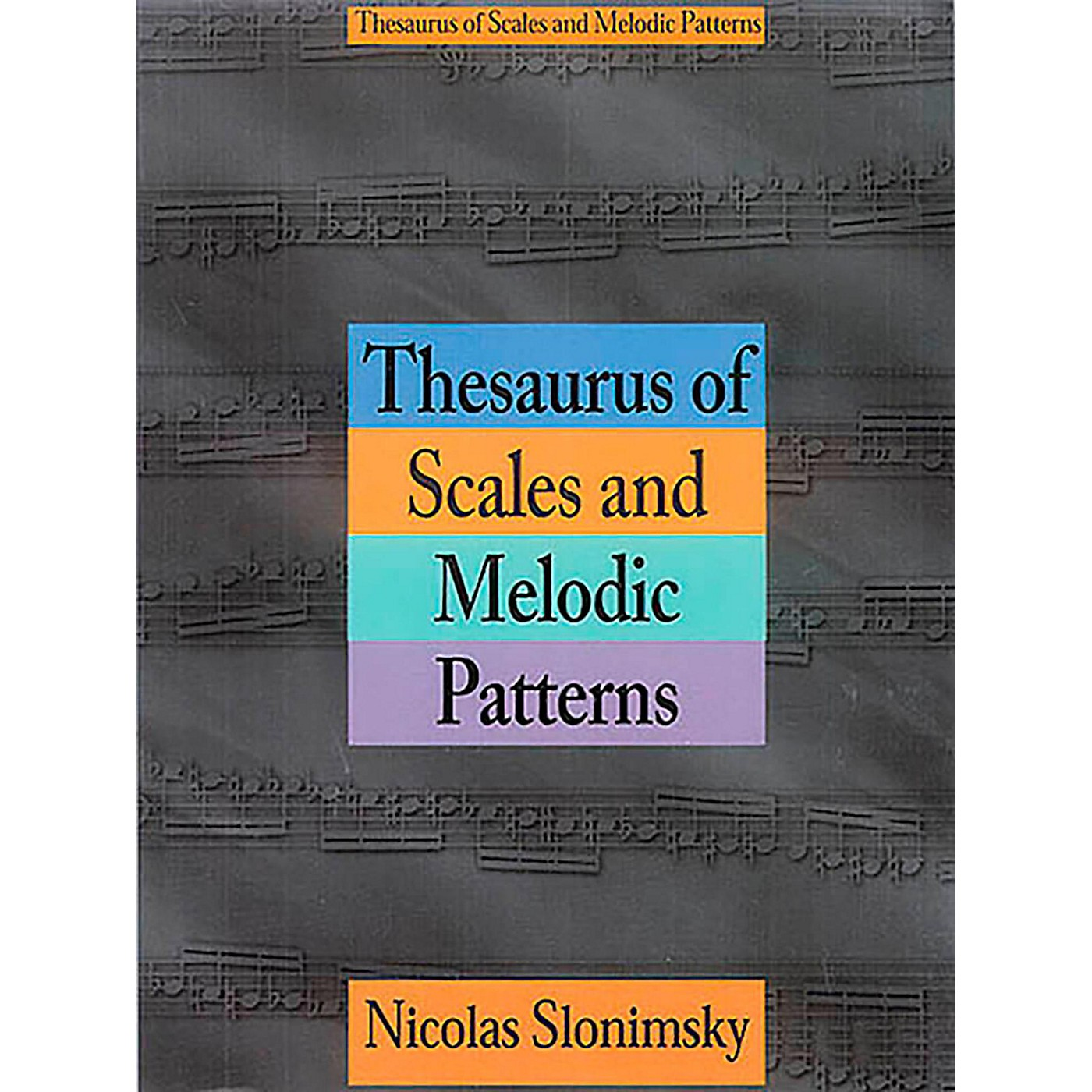 Hal Leonard Thesaurus of Scales and Melodic Patterns thumbnail