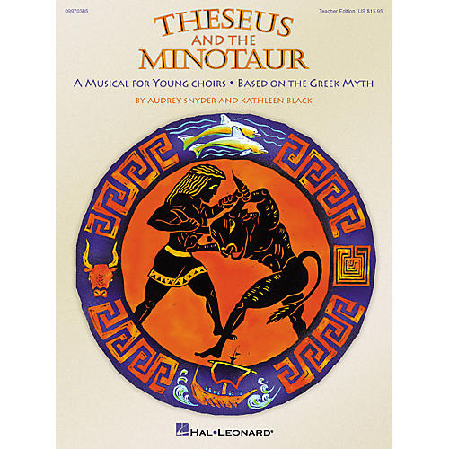 Hal Leonard Theseus and the Minotaur (Musical) (ShowTrax CD) ShowTrax CD Composed by Audrey Snyder thumbnail