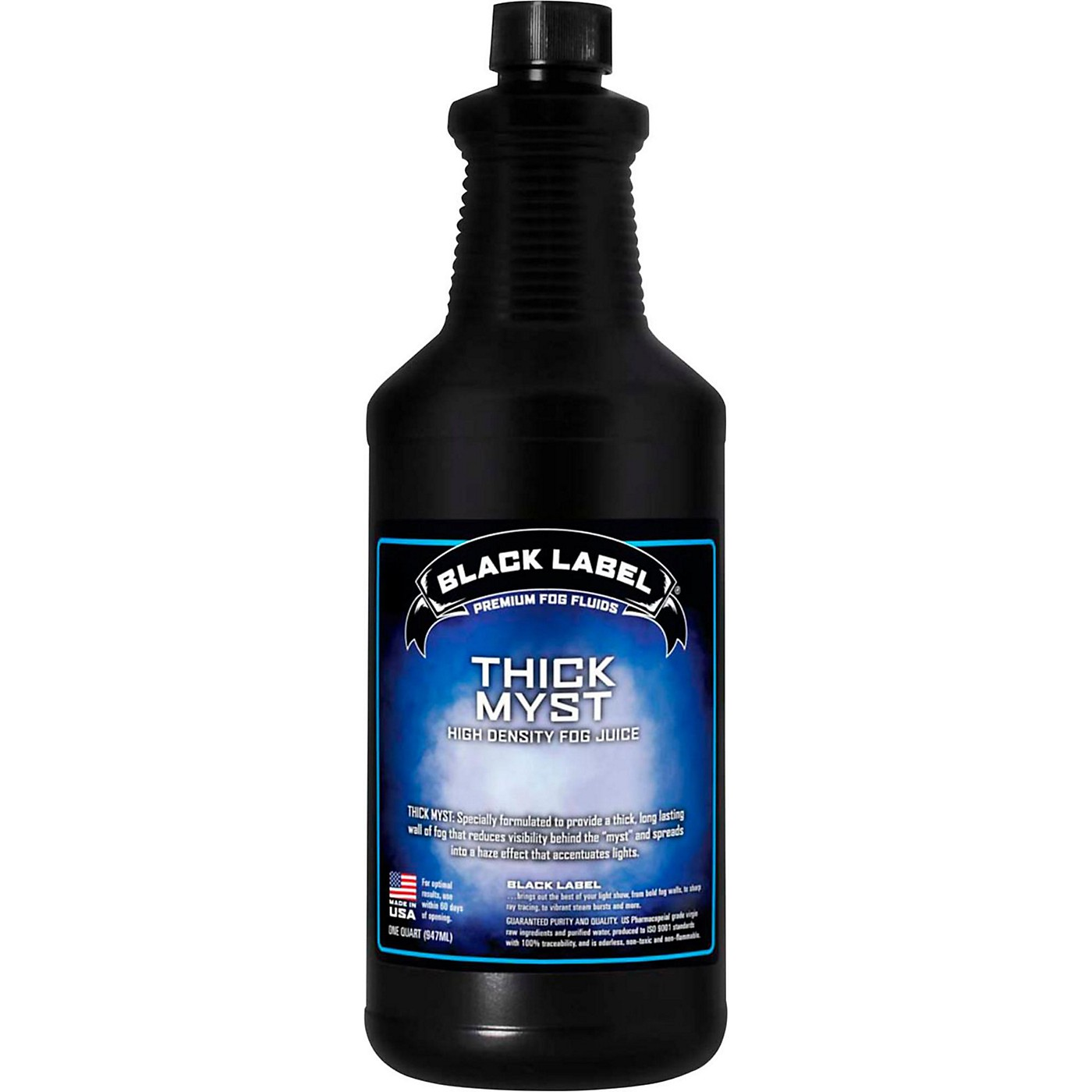 Black Label Thick Myst High Density Fog Juice - 1 Quart thumbnail