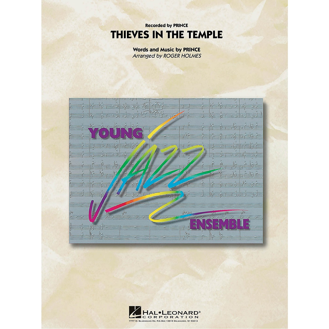 Hal Leonard Thieves in the Temple Jazz Band Level 3 by Prince Arranged by Roger Holmes thumbnail